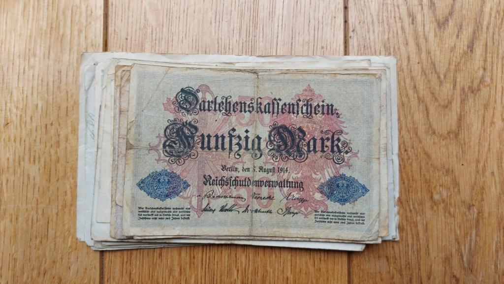 Billets allemands 20210458