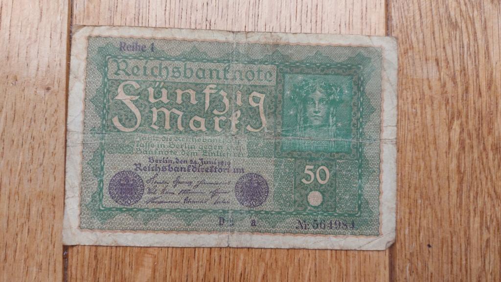 Billets allemands 20210465