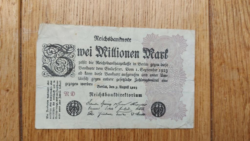 Billets allemands 20210466