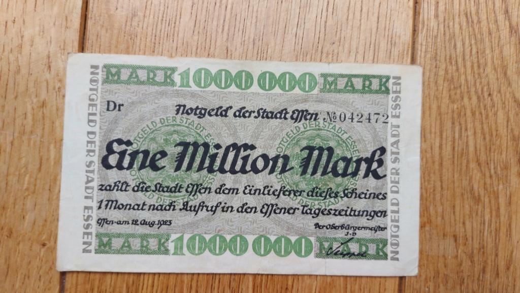 Billets allemands 20210469