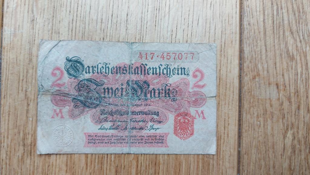Billets allemands 20210472