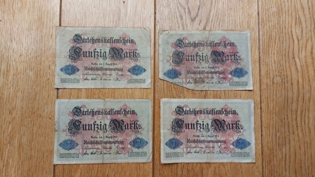 Billets allemands 20210473