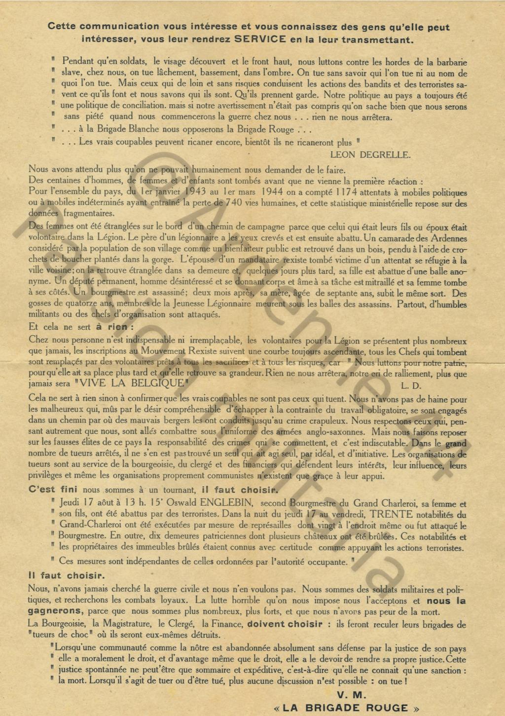Tract Léon Degrelle Pli12