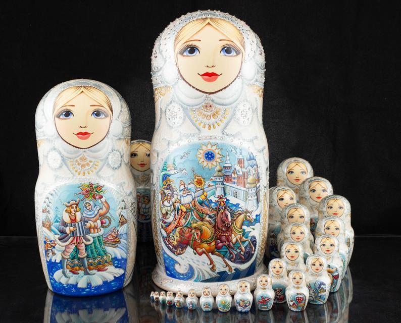 Muñecas rusas, matrioskas, mamushkas 5167e810