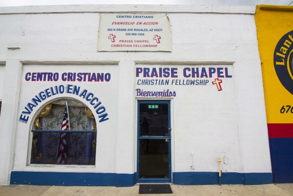 Tiendas convertidas en iglesias (storefront churches) B43b3810
