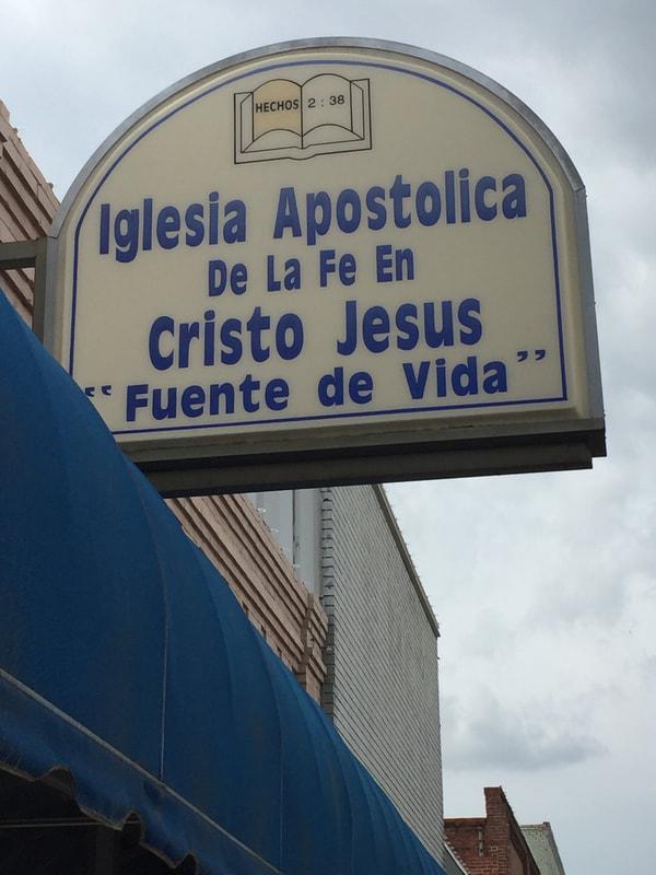 Tiendas convertidas en iglesias (storefront churches) E53bef10