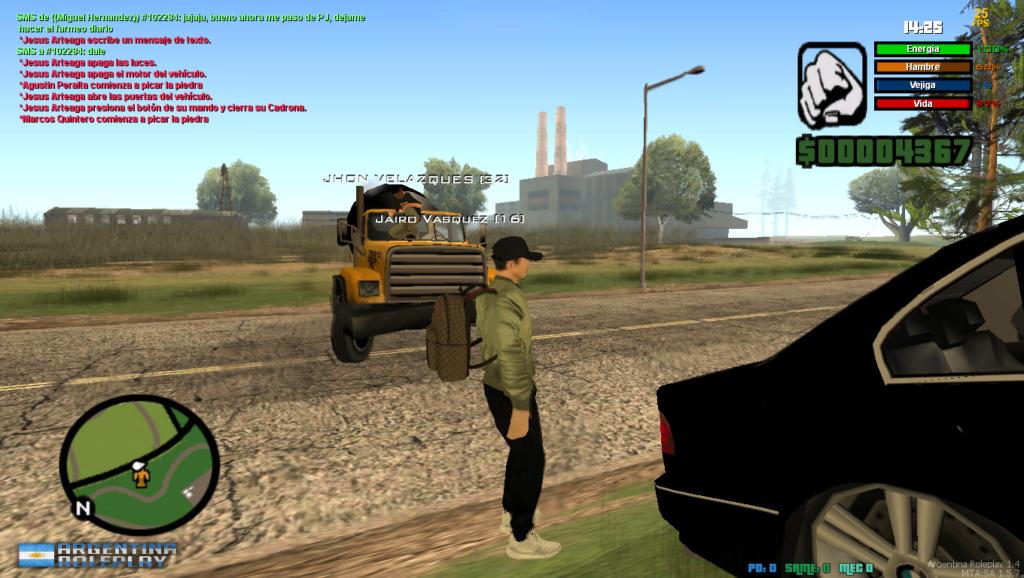 Reporte Jairo Vasquez y Jhon Velazques - Mal uso de auto de trabajo y PG Mta-sc12