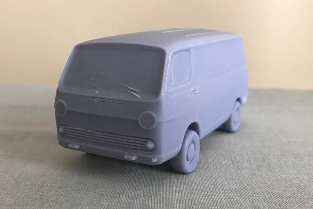 3D Printed Chevy Van miniature Img_3410