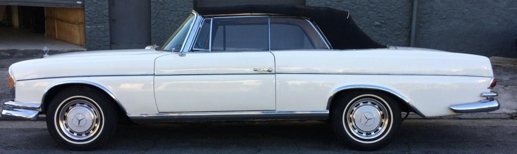 W111 1963 220SE Cabriolet - Black-tie Comcap11