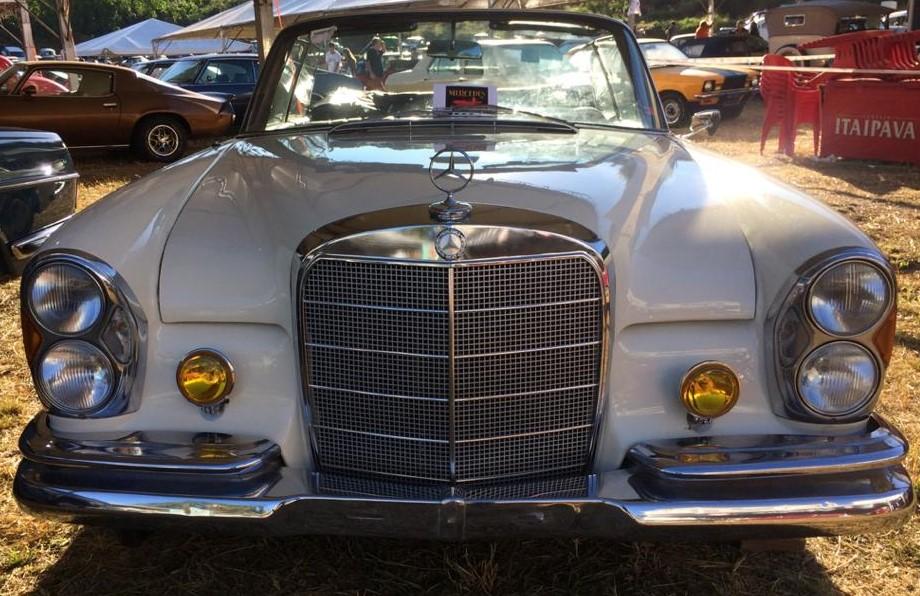 W111 1963 220SE Cabriolet - Black-tie Frente13