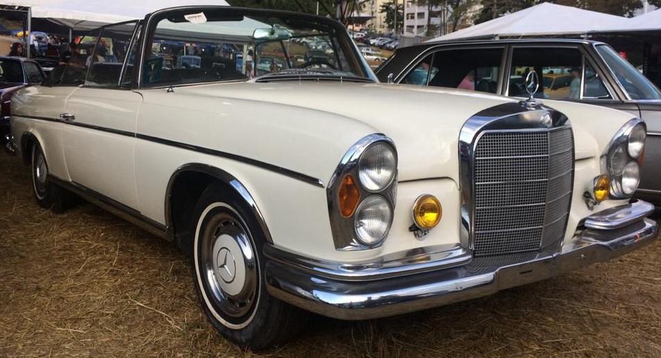 W111 1963 220SE Cabriolet - Black-tie Latera12