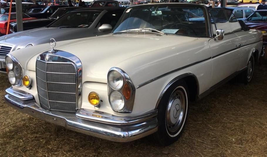 W111 1963 220SE Cabriolet - Black-tie Latera13