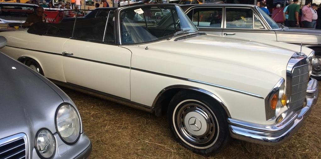 W111 1963 220SE Cabriolet - Black-tie Latera14