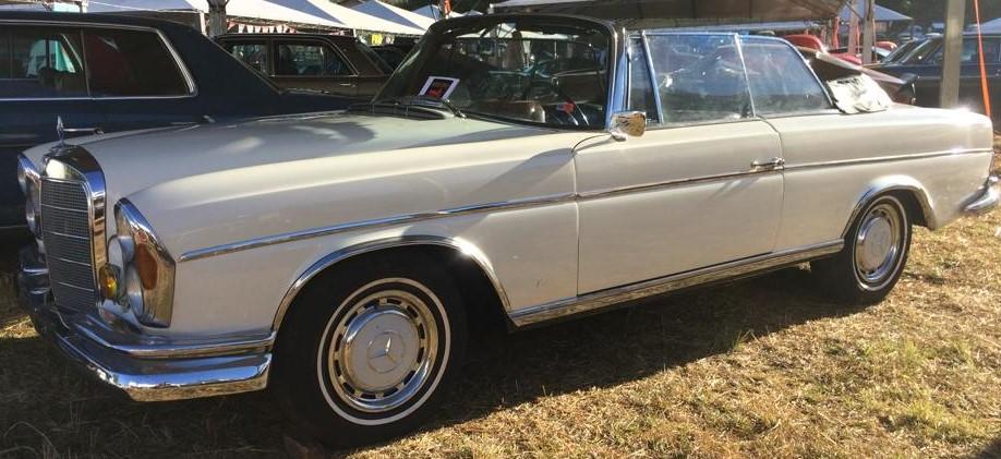 W111 1963 220SE Cabriolet - Black-tie Latera15