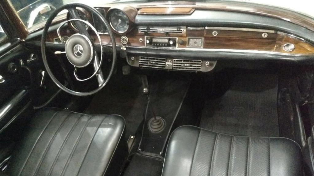 W111 1963 220SE Cabriolet - Black-tie Painel10