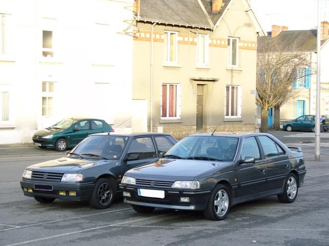 Ex 405 T16 mais toujours en Peugeot P1030111