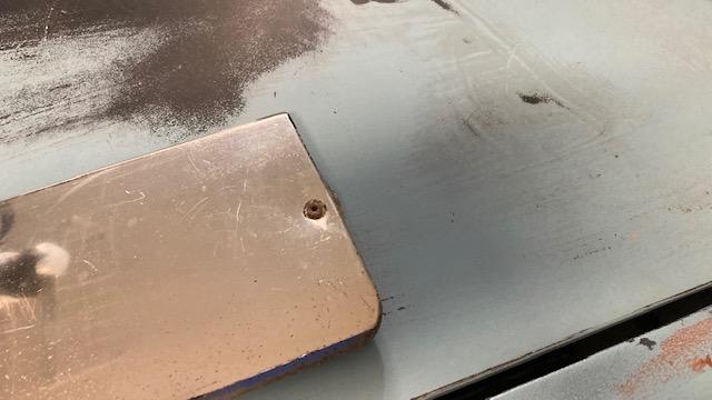 wide chrome trim, lower door Img_8513