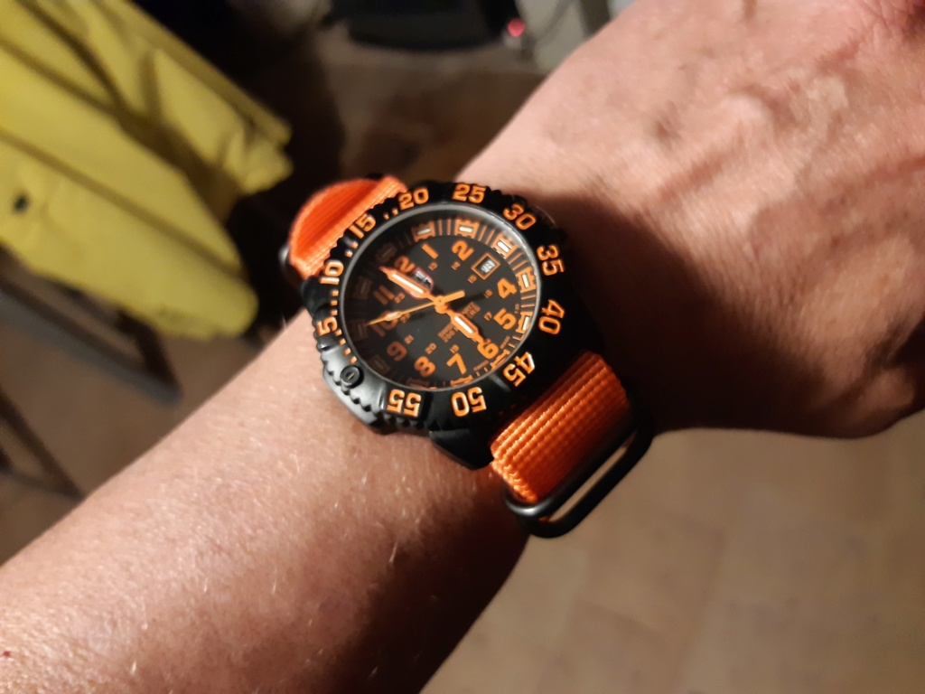 Vends - [Vends]Luminox Colormark Navy Seal 20191117