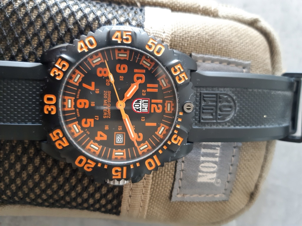 Vends - [Vends]Luminox Colormark Navy Seal 20200519