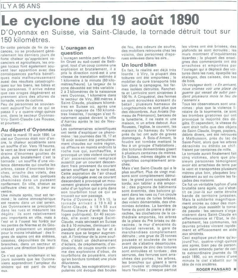 19 aout 1890 , violente tornade dans l'ain le jura ... Ainjur10