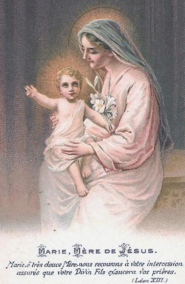 Maternité  de la Très Sainte Vierge Marie (11 octobre) Mariem10
