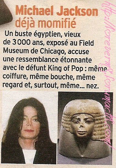 Michael Jackson déjà momifié 07310