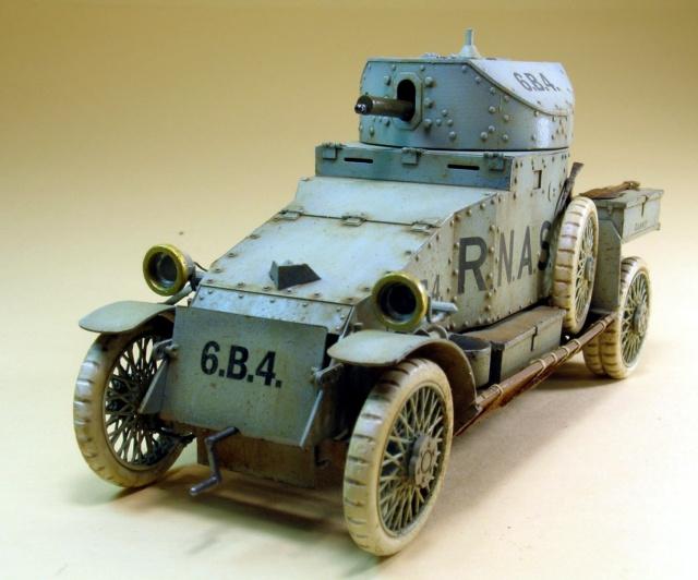 British LANCHESTER - CSM 1/35 Av110
