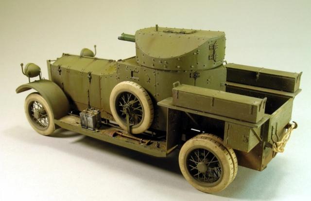 Rolls-Royce Armoured Car Pattern 1914 Finie_11