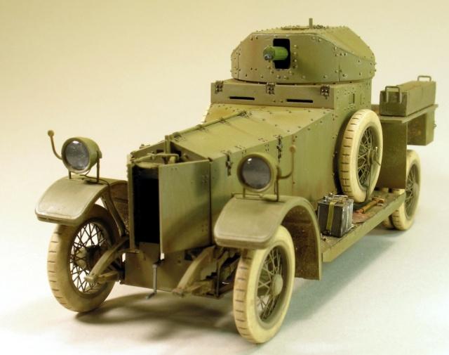 Rolls-Royce Armoured Car Pattern 1914 Finie_12
