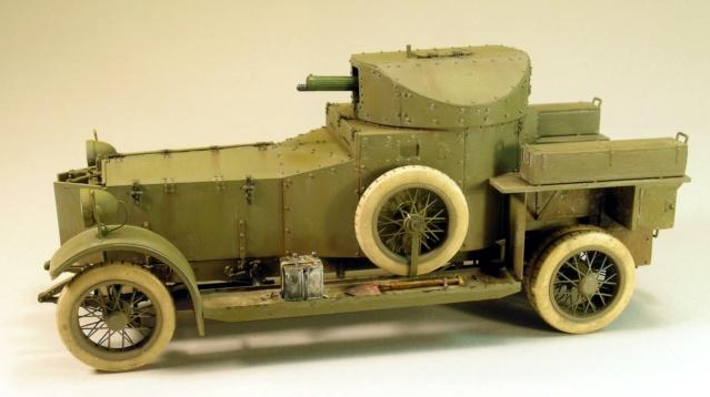 Rolls-Royce Armoured Car Pattern 1914 Finie_13