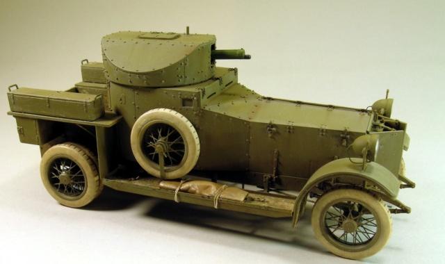 Rolls-Royce Armoured Car Pattern 1914 Finie_14