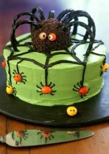 Gâteau araignée pour Halloween Gateau10