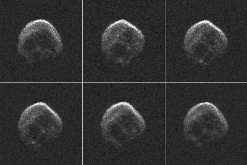 Un astéroïde en forme de tête de mort va frôler la Terre Astero10