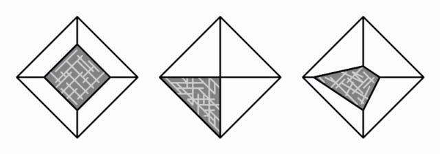 Scale cube 1cm en météorite Cuttin11