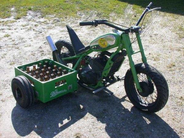 équipement d'une moto comme BOV Moto-b10
