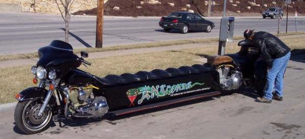 équipement d'une moto comme BOV Moto-l11