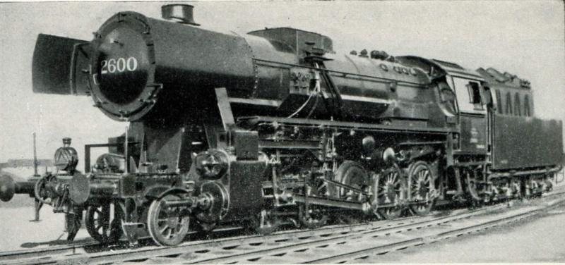 Compo pour Loco vapeur SNCB serie 26 74710