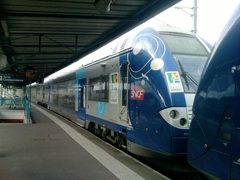 Les nouveaux trains Paris - Rouen - Le Havre - Page 4 P0709111
