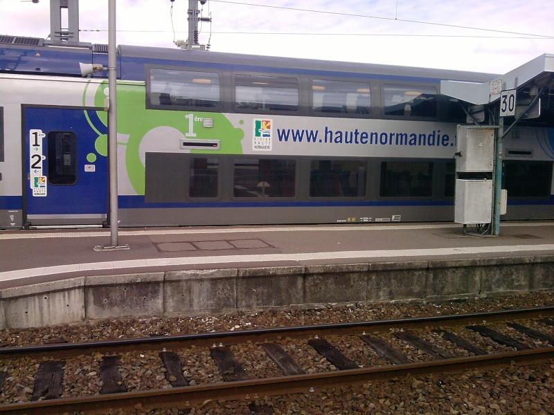 Les nouveaux trains Paris - Rouen - Le Havre - Page 4 P0709115