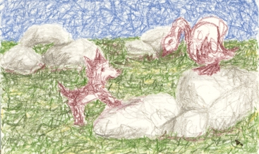 Le louveteau et le cygne Louvet10