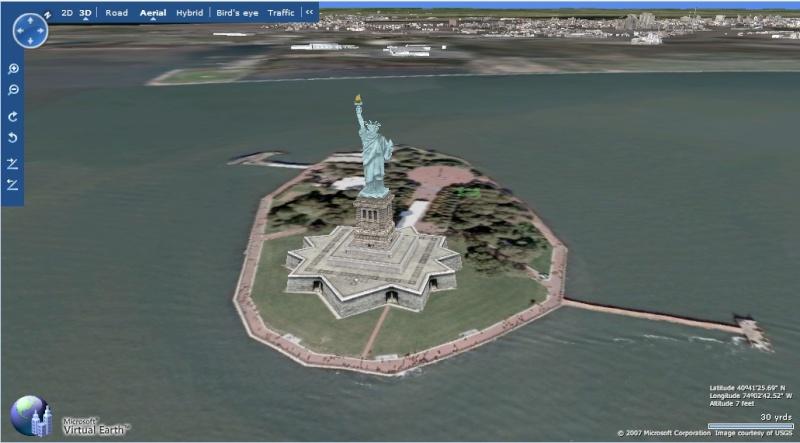 Le service concurrent de GE : Microsoft Virtual Earth New_yo10