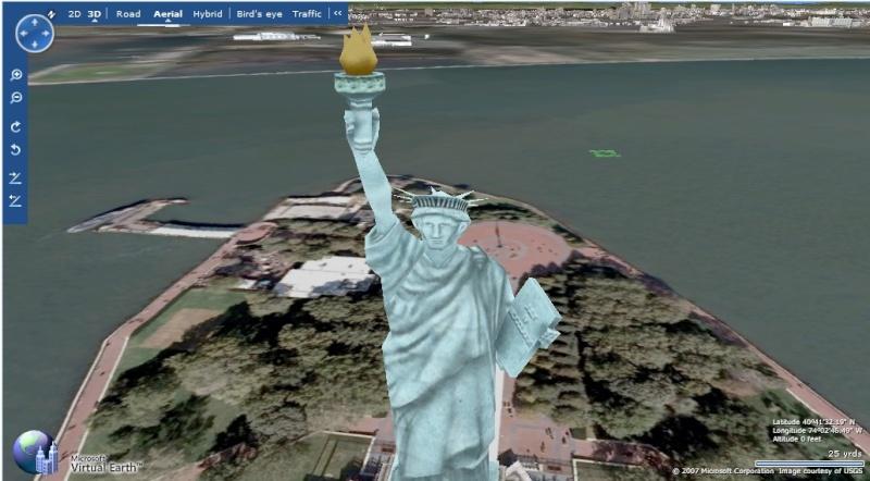 Le service concurrent de GE : Microsoft Virtual Earth New_yo11