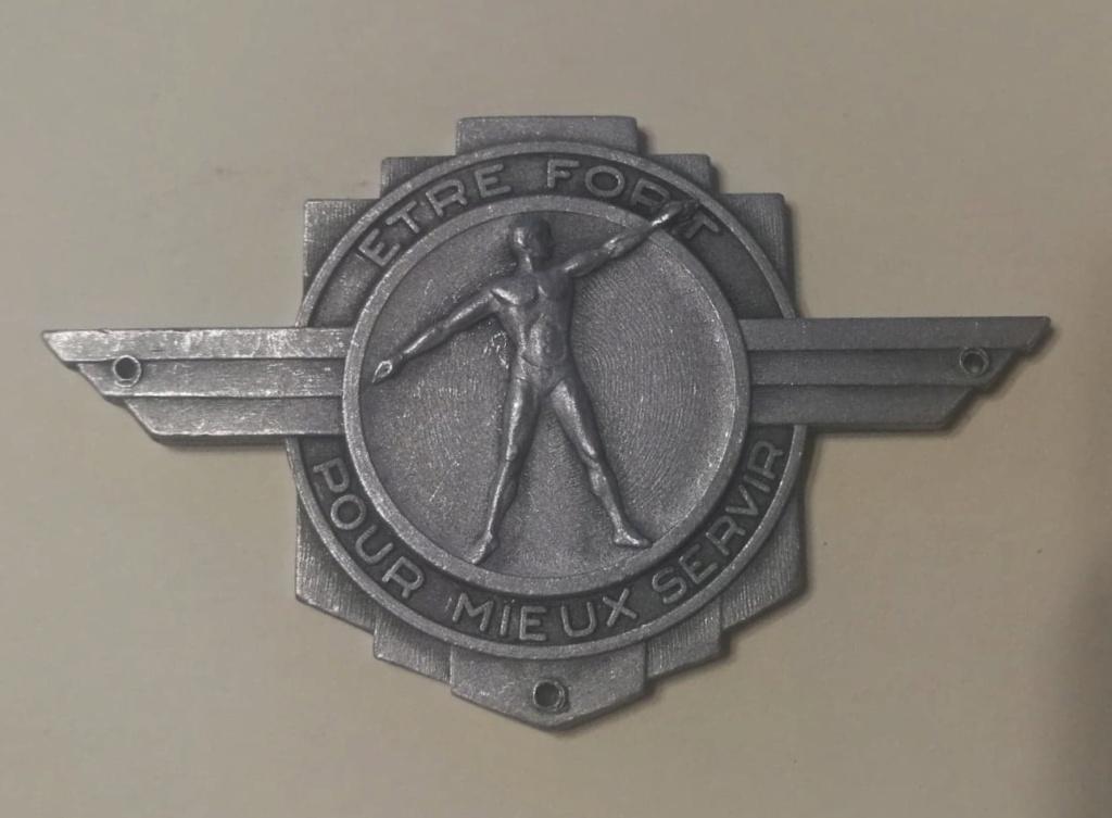 """insigne """"être fort pour mieux servir"""" 12374110"""
