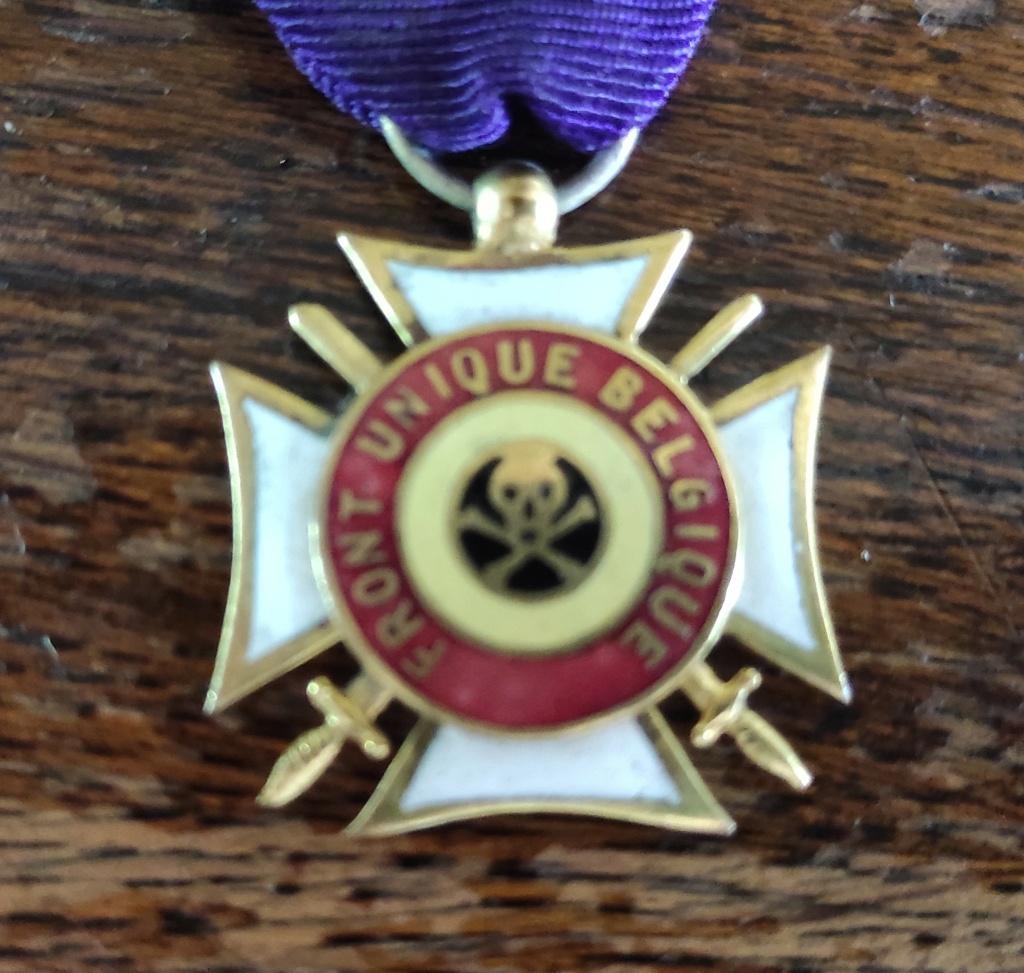 """medaille """" FRONT UNIQUE BELGIQUE"""" Img_2028"""