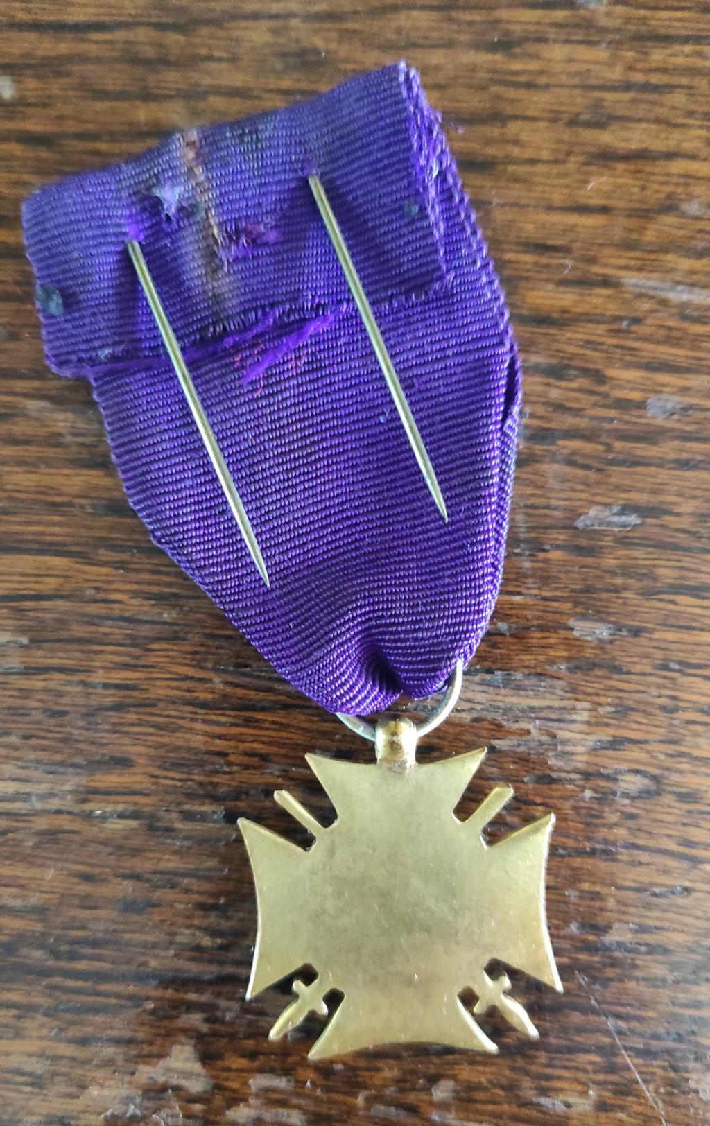 """medaille """" FRONT UNIQUE BELGIQUE"""" Img_2030"""
