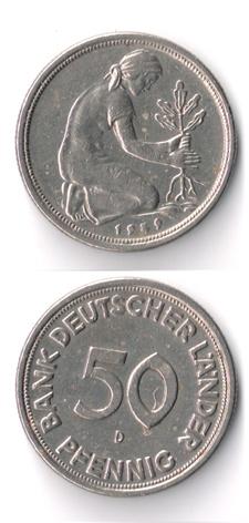 Alemania, 50 Pfennig, (varias cecas fechas) 50_pfe12