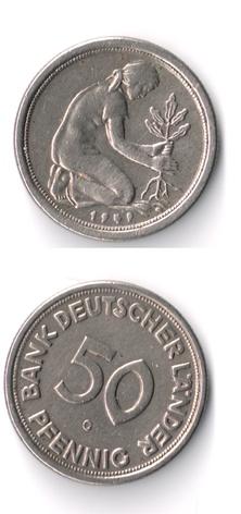 Alemania, 50 Pfennig, (varias cecas fechas) 50_pfe14
