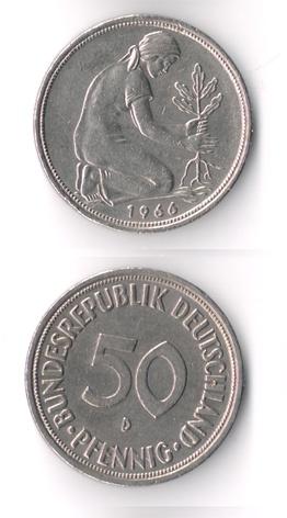 Alemania, 50 Pfennig, (varias cecas fechas) 50_pfe16