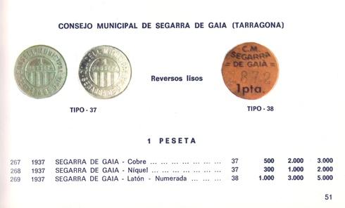Consejo Municipal de Segarra de Gaià Catalo10