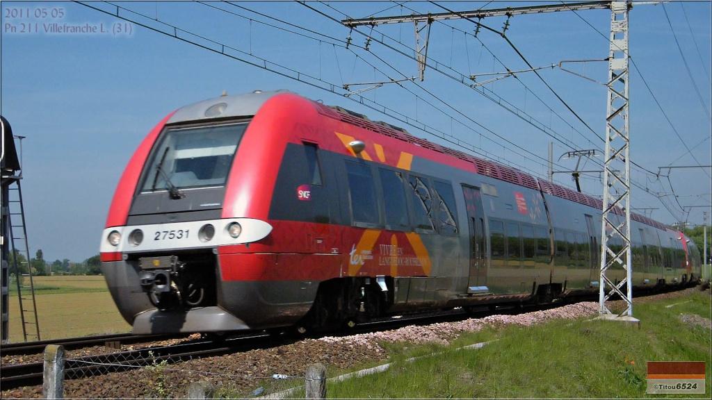 Photos et vidéos de la ligne Bordeaux - Toulouse - Narbonne - Sète (2007-2013) - Page 2 2011_081